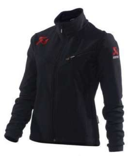 Akrapovic Exhaust System Racing Womens Soft Shell Jacket Coat