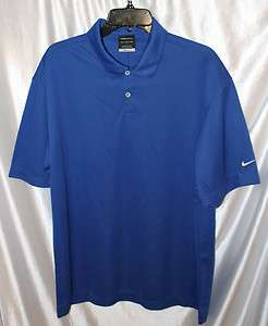 wicking nike dri fit royal blue 3xl golf tennis, school polo shirt