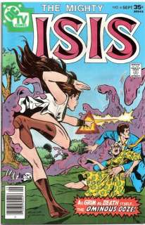 THE MIGHTY ISIS #6 BRONZE FROM TV SHOW 1977 NM+ (9.6)
