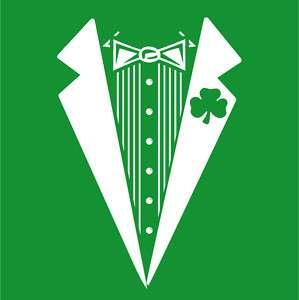 IRISH TUXEDO St Patricks Day Ireland T Shirt XXL