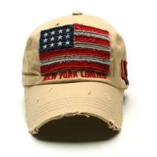 Vintage Baseball Caps Hats Stylish Design Man Women American Flag Caps