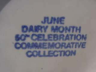 Farm MILK Cream PITCHER DAIRY MONTH June Commemorative