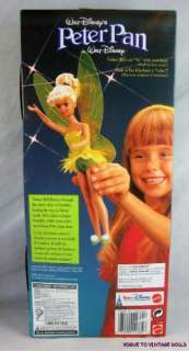 Flying Tinker Bell Doll Euro Disney Peter Pan Skipper