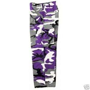 BDU PANTS MILITARY SPECS6 POCKETS ALL COLORS ALL SIZES