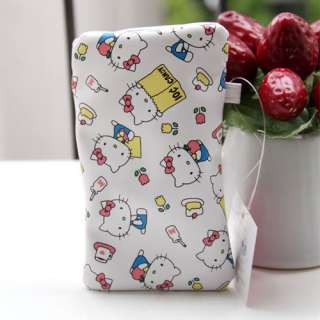 Hello Kitty Cellphone Moible iPhone Case Pouch White 30