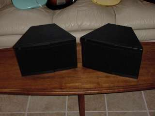 TELEDYNE ACOUSTIC RESEARCH ROCK PARTNER SPEAKERS
