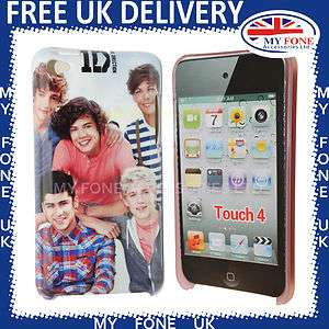 For Apple iPod Touch 4 One Direction 1D Print Hard Back Case Cover 4G