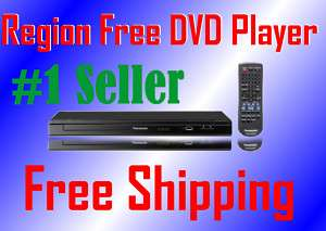 PANASONIC S48 PAL NTSC DVD Player All Region Code Free