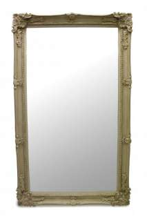 French Furniture 5ft Large Ivory White Wall Mirror