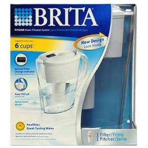 Brita Space Smart Save Pitcher Home & Kitchen