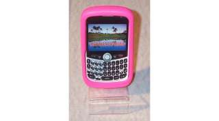 PEACE AND LOVE SILICONE ROSE/BLANC BLACKBERRY CURVE 8520/9300 NEUVE