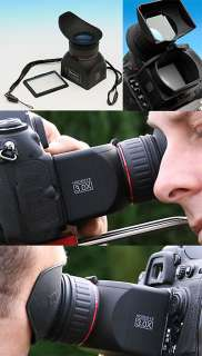 GGS 3X LCD Viewfinder Loupe for Canon EOS 7D 5D Mark II