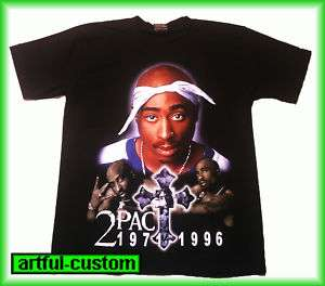 2PAC Tupac Hip Hop Rap T Shirt S M L XL
