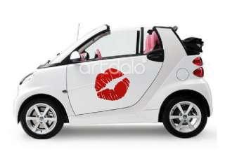 Wall Stickers   adesivi Smart 500 Fiat BACIO
