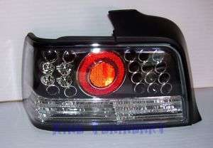 Fari Posteriori LED NERI BLACK BMW E36 BERLINA 4 PORTE