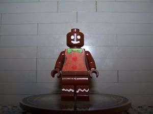 Lego Minifig CUSTOM Gingerbread Man