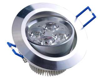 4W Spot encastrable à led lentille Lamp lumière du jour