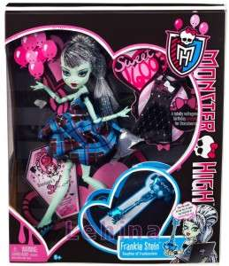 Monster High Coffret   Sweet 1600  Frankie Stein Poupée