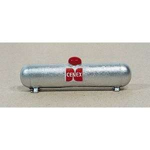 LARGE SILVER PROPANE TANK   JL INNOVATIVE DESIGN HO SCALE