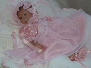 & organza baby gown reborn baby doll dress 14 18 reborn clothing