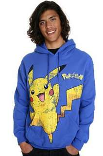 Pokemon Distressed Pikachu Hoodie 2XL   242367