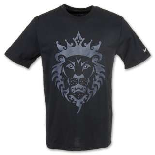 the gallery for gt lebron james lion logo shirt