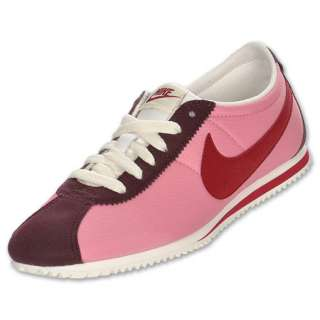 Nike Lady Cortez Nylon Casual Shoes  FinishLine  Pink Cooler/Red