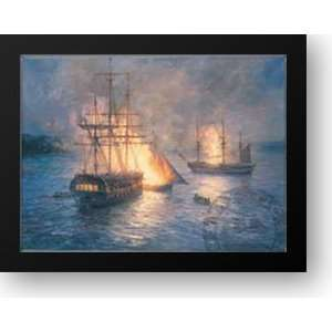 the Hudson River 28x24 Framed Art Print by Hunt, Mary Home & Kitchen