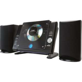 Coby CXCD380 Micro CD Player Stereo System with PPL AM/FM Tuner in