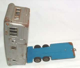 1950's SSS JAPAN TIN TOY CAMPER TRAVEL HOUSE TRAILER MOBILE HOME
