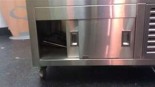DUKE REFRIGERATED STAINLESS STEEL SALAD BAR TOPPINGS COLD BUFFET TABLE