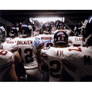 Eli Manning New York Giants   Emerging From the Tunnel