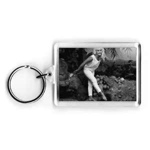 Elke Sommer   Acrylic Keyring   Art247   Standard Size