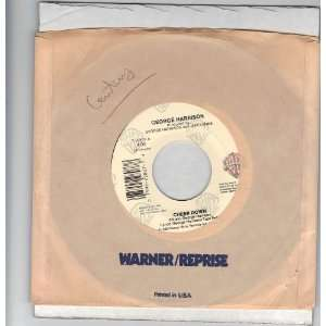 com Harrison, George/Cheer Down/45rpm Record George Harrison Music