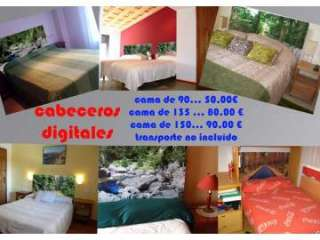 Cabeceros de cama en lona con la imagen que Vd. elija (10250383