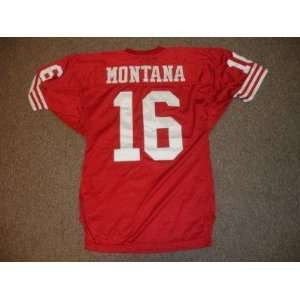 1990s Joe Montana San Francisco 49ers Authentic Jersey