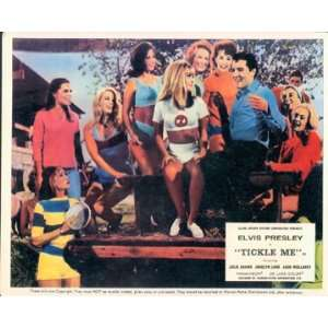 TICKLE ME ELVIS PRESLEY JULIE ADAMS ORIGINAL LOBBY CARD
