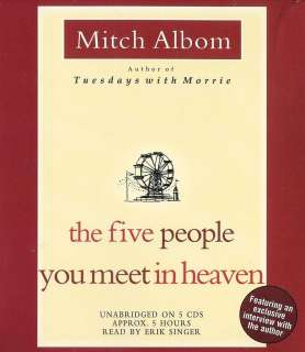Five People You Meet in Heaven by Mitch Albom New 9781401397524