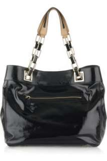 Anya Hindmarch Flavie patent leather tote   50% Off Now at THE OUTNET