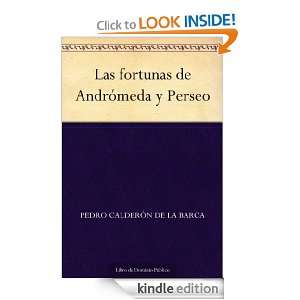 de Andrómeda y Perseo (Spanish Edition): Pedro Calderón de la Barca