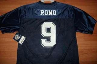 Tony Romo Dallas Cowboys Jersey XL Shield Logo NFL