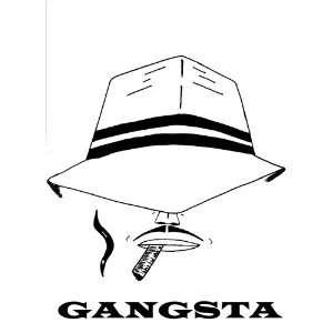 American Gangster Tee Shirts Black or White Size Medium