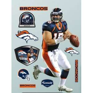 Fathead Fathead NFL Players and Logos tim tebow Denver Broncos 1220519
