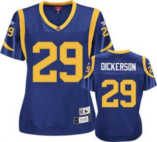 Eric Dickerson Los Angeles Rams Womens Premier Throwback Player