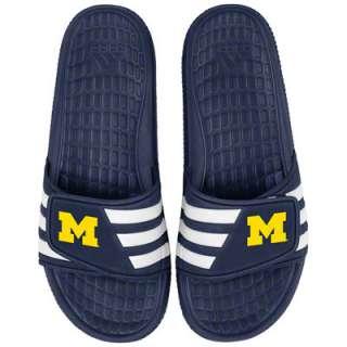 Michigan Wolverines adidas Slide Sandals