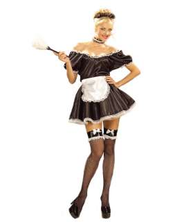 Sexy French Maid Adult Womens Costume