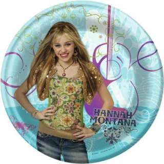 Hannah Montana Dinner Plates (8 count)   Costumes, 29465