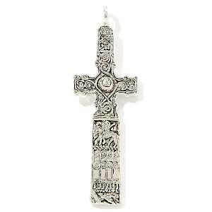Ashling Aine Sterling Silver Celtic Cross Pendant