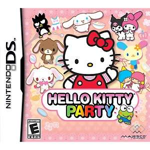Hello Kitty Party Video Game   Nintendo DS