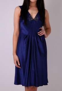 Deco Embellished Dress by Philosophy di Alberta Ferretti   Blue   Buy